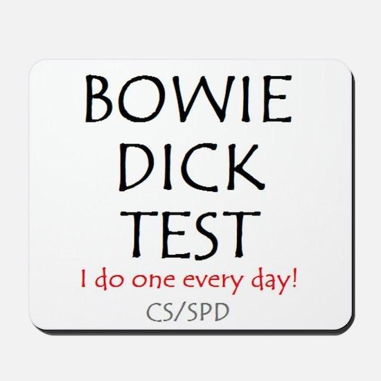 Bowie Dick Mousepad