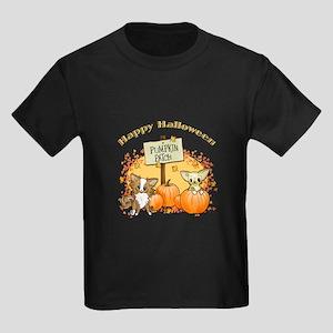 Chihuahua Halloween Kids Dark T-Shirt