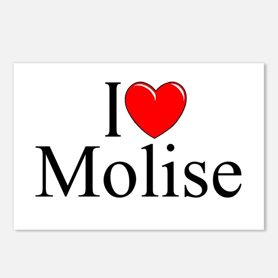 """""""I Love (Heart) Molise"""" Postcards (Package of 8)"""