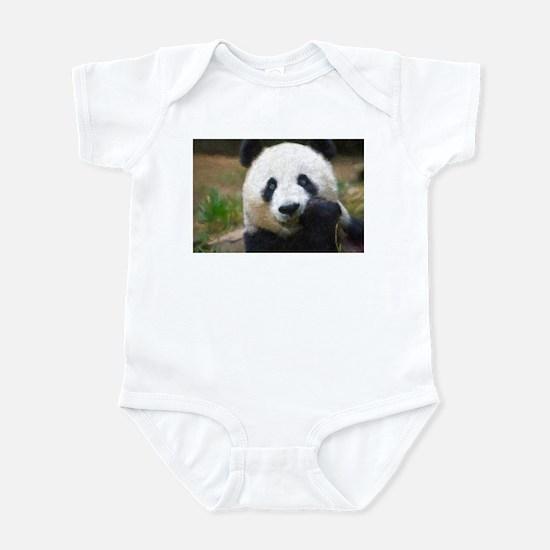 Giant Panda Infant Bodysuit