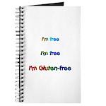 I'm Free I'm Free I'm Gluten- Journal
