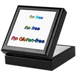 I'm Free I'm Free I'm Gluten- Keepsake Box