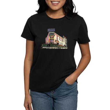 Cheese Steak Stand Women's Dark T-Shirt