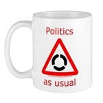 Politics as Usual Mug