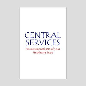 Healthcare Team Mini Poster Print