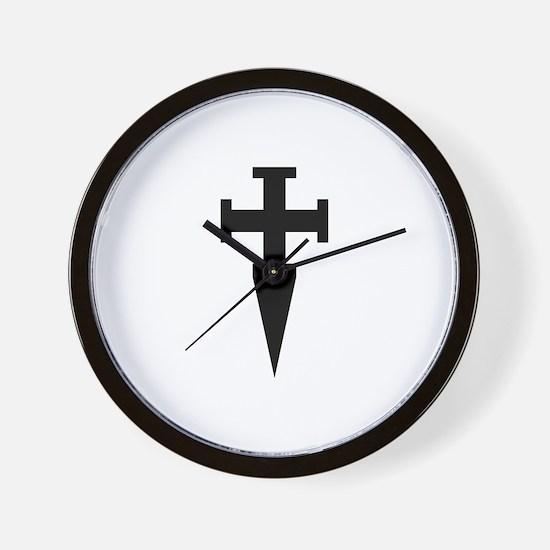 Cute Teutonic knights Wall Clock