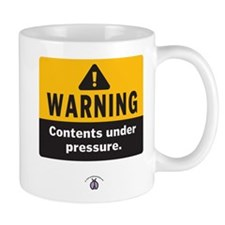 Warning: Contents under press Mug