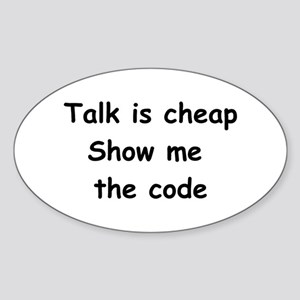 Software Engineer Oval Sticker (10 pk)