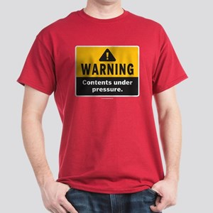 Warning: Contents under press Dark T-Shirt