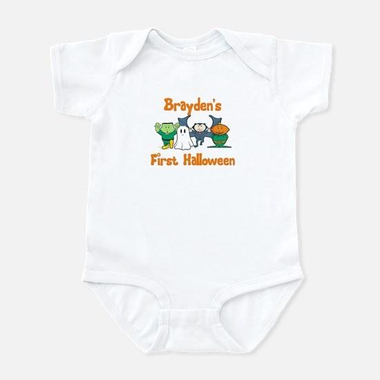 Brayden's First Halloween Infant Bodysuit