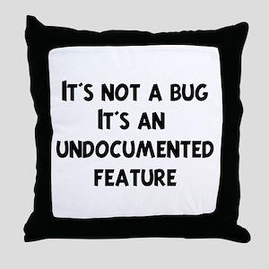 Software Engineer Throw Pillow