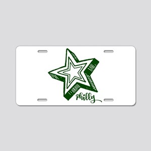 Philly Aluminum License Plate