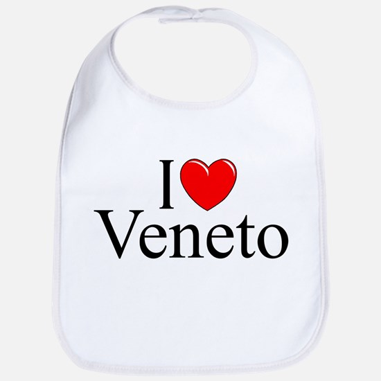 """I Love (Heart) Veneto"" Bib"