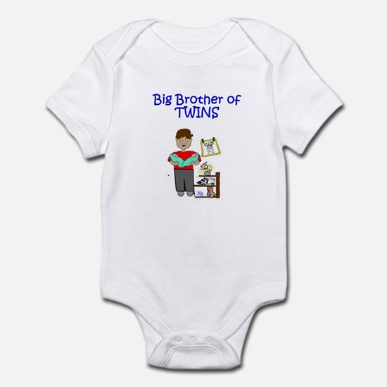 Big Brother of Twins Infant Bodysuit