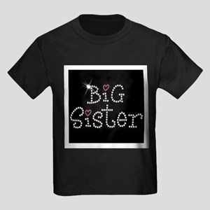 Big Sister Kids Dark T-Shirt