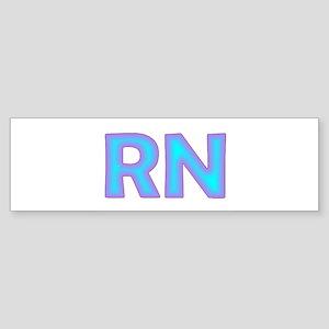 Bright Blue Bumper Sticker