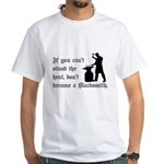 Can't Stand Heat Blacksmith White T-Shirt
