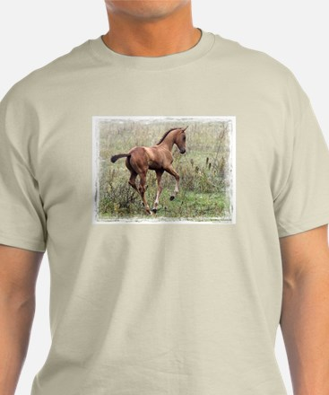 Playful Horse Foal T-Shirt