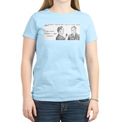 Two Accurate Guys Women's Pink T-Shirt