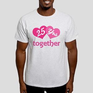 25th Anniversary Hearts T-Shirt