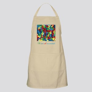 We Are All Connected! BBQ Apron