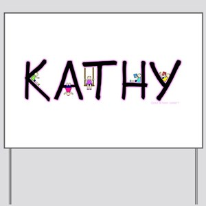 Kathy (Girl) Yard Sign
