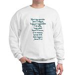 John 3:16 Hungarian Sweatshirt