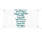 John 3:16 Hungarian Banner