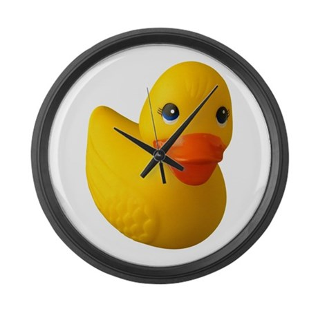 Rubber Ducky Large Wall Clock
