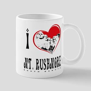 I Love Mt. Rushmore Mug