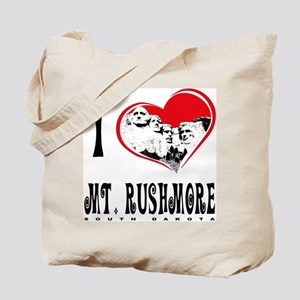 I Love Mt. Rushmore Tote Bag