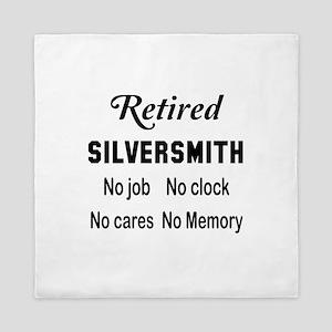 Retired Silversmith Queen Duvet