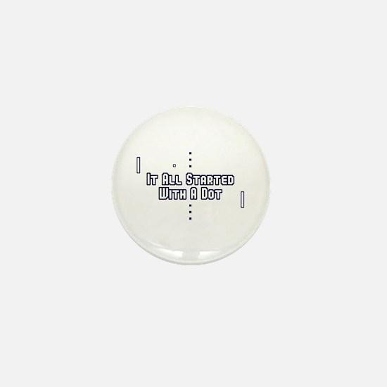 Funny Pong Saying Mini Button