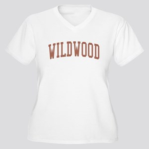 Wildwood New Jersey NJ Red Women's Plus Size V-Nec