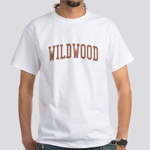 Wildwood New Jersey NJ Red White T-Shirt