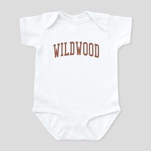 Wildwood New Jersey NJ Red Infant Bodysuit