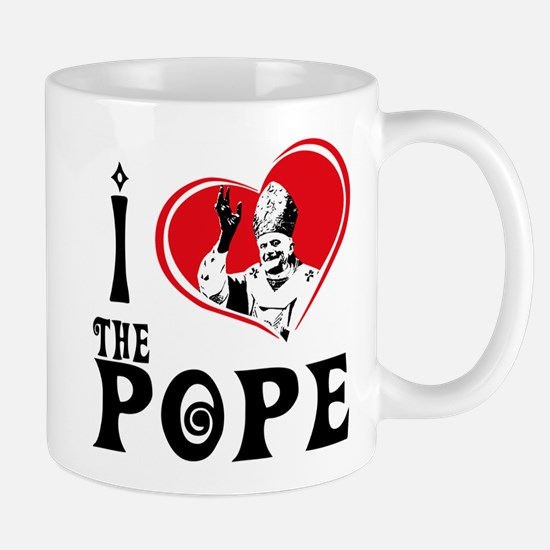 I Love The Pope Mug