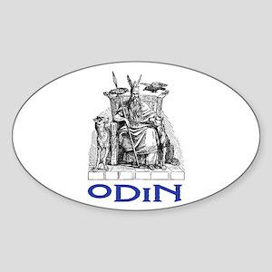 ODIN Oval Sticker