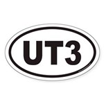 UT3 Euro Oval Sticker