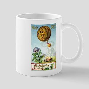Hot Air Halloween Mug