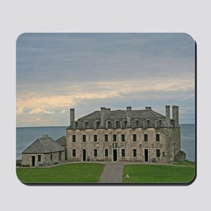 French Castle At Ft Niagara Mousepad