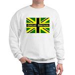 Black Union Jack Sweatshirt