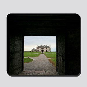 Old Fort Niagara Castle Mousepad