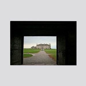 Old Fort Niagara Castle Rectangle Magnet