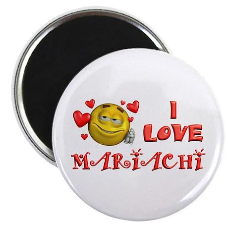 I Love Mariachi Magnet