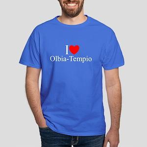 """""""I Love (Heart) Olbia-Tempio"""" Dark T-Shirt"""