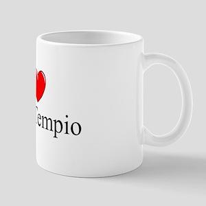 """""""I Love (Heart) Olbia-Tempio"""" Mug"""