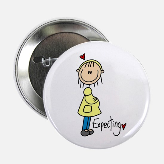 """Expecting Baby 2.25"""" Button"""