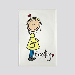 Expecting Baby Rectangle Magnet