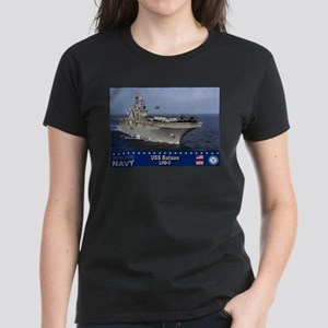 USS Bataan LHD-5 Women's Dark T-Shirt